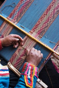 We visit CTTC and its founder Nilda Callañaupa Alvarez to learn about Peruvian Textiles and what's being done to protect Andean craft for future generations Peruvian Weave, Peruvian Art, Weaving Textiles, Weaving Art, Hand Weaving, Peruvian Textiles, Sustainable Textiles, Cusco Peru, African Textiles