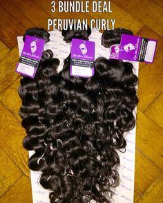 Virgin Hair Bundle deals @ www.vigohairextension.com #peruvianhair #virginhair