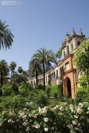 Sevilla, Alcazar. koninklijke paleizen en tuinen van het Alcazar.