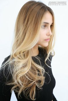 Ombré hair color 2014