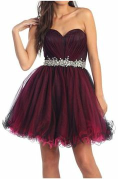 Burgundy Formal Dresses, Homecoming Dresses, short prom dresses, party dresses, pageant dresses, fancy dresses, strapless, dark red dresses, jewels, beading, dresses, sweetheart, pink, wine, rhinestones
