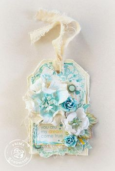 Wishes Tag by Stacey Young for Prima  just gorgeous