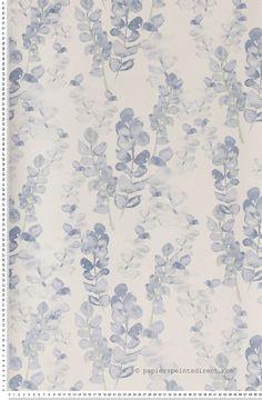 Coronille bleu - Papier peint Jardin d'hiver de Montecolino