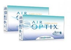 Zestaw soczewek AIR OPTIX™ AQUA 6 szt. x 2 op. - AIR OPTIX