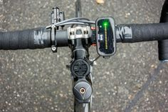 Garmin with Backtracker Front Light Pod