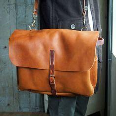 bleu de chauffe (France)Leather 2way Bag L - eimeku :: online shop