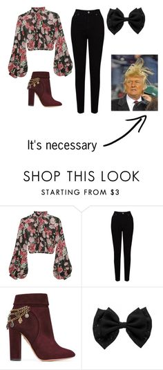 """Untitled #163"" by julia1416 ❤ liked on Polyvore featuring Jill Stuart, EAST, Aquazzura and Trump Home"