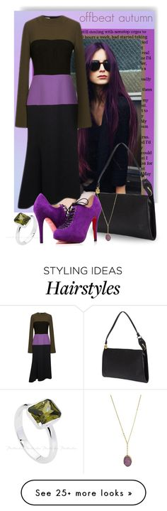 """offbeat autumn"" by tiffanysblues on Polyvore featuring Marni, Louis Vuitton and BCBGeneration"