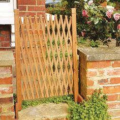 A Fence In The Garden, A Pet Gate In The House   This Free Standing Fencing  Unit Is Both. Use It Outdoors As A Divider, To Provide A Little Privacy, ...