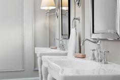 Weymouth Polished nickel two-handle high arc bathroom faucet -- TS42114NL -- Moen