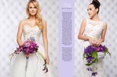 Themes Come True- Wedding Flower Ideas Get inspired by these wedding flower ideas!