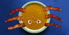 Halloween Rezept: Spinnen-Suppe