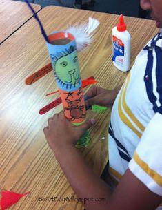 it's art day: 1st grade