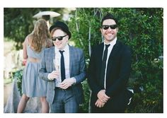 I love the fact that Patrick stump and Pete wentz were at Brendon Uries wedding…