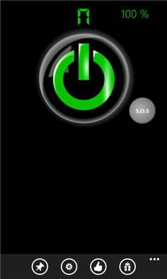 Flashlight-X Flashlight-X is the most popular LED flashlight app in the Windows Phone store. It features a LED light, battery meter, a compass and an S.O.S mode that does not interfere with the user experience. Flashlight-X is the ultimate survival tool whether you are hiking at night, trying to find...  http://www.windows8apps.net/flashlight-x-2/