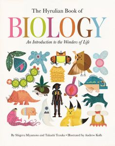 Hyrulean Book of Biology, illustrated by Charley Harper