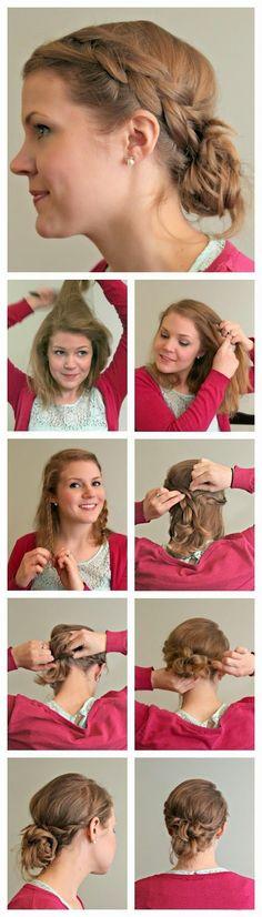 Top 5 Simple Updo Hairstyles Tutorials