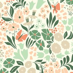 147005 Hyde Park | Pink Quilter's Cotton from Park Life by Elizabeth Olwen for Cloud9 Fabrics