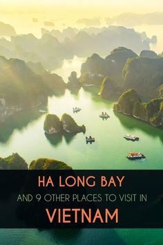 Ha Long Bay offers an amazing view of more than 3,000 undulating karst outcrops and islands. While the topography of Ha Long is entirely the result of natural processes, it's difficult to shake the feeling that it appears out of this world. So the view of Ha Long Bay from the deck of your boat will, without doubt, be one of the highlights of your Vietnam vacation. But the country has so much more to offer. Read about all the other highlights in the Vietnam travel guide. Vietnam Travel Guide, Asia Travel, Vietnam Vacation, Ha Long Bay, Fishing Villages, Ho Chi Minh City, Where To Go, Travel Guides, Shake