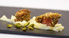 Francesca Gonzales   Spadelliamo Insieme   Bocconcini di Agnello Marinato in crosta di pistacchio e menta