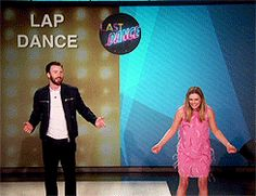 Chris Evans - Lap Dance