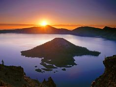 Crater Lake National Park, Oregon - I was born & raised in Oregon but never saw Crater Lake.