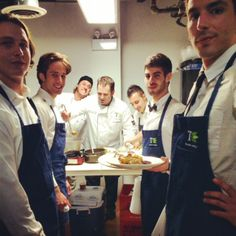 Just another Saturday night for Chef Brad Murphy...  Treeline Catering @ LoftRaum Toronto, for Facebook holiday event