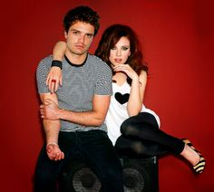 Sebastian Stan and Scarlett Johansson << what i would give to be her in this instance