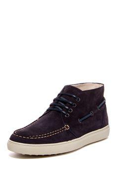 ECCO Tod's Suede Boat Shoe Sneaker on HauteLook