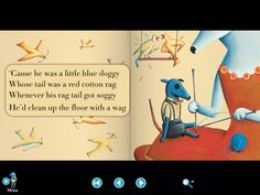 The Little Blue Doggy app, based on the original book-CD. All songs were written by Lionel Daunais and illustrated by Marie France. All Songs, Picture Books, Clean Up, Ipad, France, Popular, The Originals, Illustration, Pictures