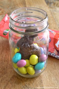 Quick and easy easter spring mason jars pinterest easter jar quick and easy easter spring mason jars pinterest easter jar and easter baskets negle Gallery