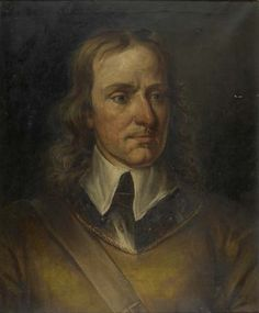 painting; oil on canvas - Oliver Cromwell