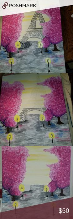 I'm an artist and is showing my work This was ordered for a present to friends daughter. Please tell me what you would like, or send pictures of ideas. Thanks Other