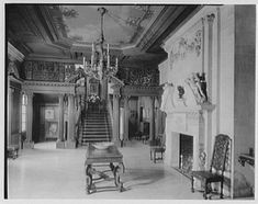 Old Westbury Gardens Entrance hall
