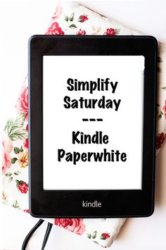 The Kindle Paperwhite e-reader. Of all the e-readers I've tried, this is my absolute favorite.  $119
