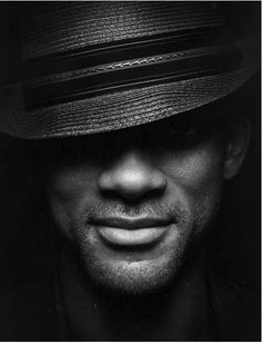 Will resembles Mos Def w/front of Brim broke down over eyes
