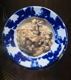Risotto+funghi+porcini+e+fonduta+di+parmigiano