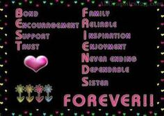 Acrostic poem of a friend :)