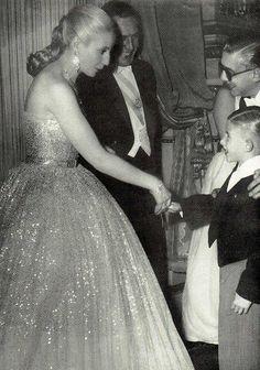 Evita wearing Dior