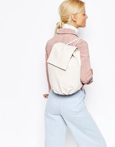 Buy ASOS Soft Unlined Backpack at ASOS. With free delivery and return options (Ts&Cs apply), online shopping has never been so easy. Get the latest trends with ASOS now. Asos, Leather Backpack, Fashion Backpack, Latest Trends, Casual Backpacks, Stuff To Buy, Shopping, Clothes, Bag