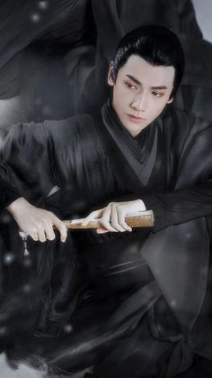 Asian Actors, Korean Actors, Asian Men Long Hair, Vans Hi, Ancient Beauty, Asian Hotties, Secret Love, Flower Boys, Actor Model