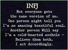 Infj Mbti, Intj And Infj, Infj Type, Isfj, Infj Personality, Psychology Facts, How To Be Outgoing, Inspirational Quotes, Sayings