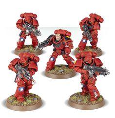 Blood Angels Intercessor squad