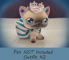 Littlest Pet Shop clothes & accessories LPS outfit 42 | eBay