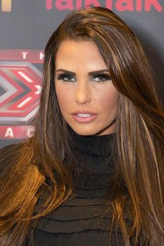 Katie Price. | 26 Celebrities Who Prove Too Much Makeup Can Change Your Face