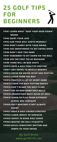 To know the best golf tips for beginners, check this comprehensive list of tips. Tips are easy to understand and includes how to implement these to your game. #golf #golftips #beginner