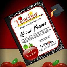 Career Training, New Career, Teacher, Professor
