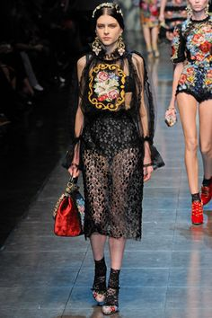 Dolce & Gabbana fall 2012 ready-to-wear #collection