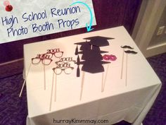High School Reunion Photo Booth Props on Hurray Kimmay