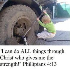 Christ my strength